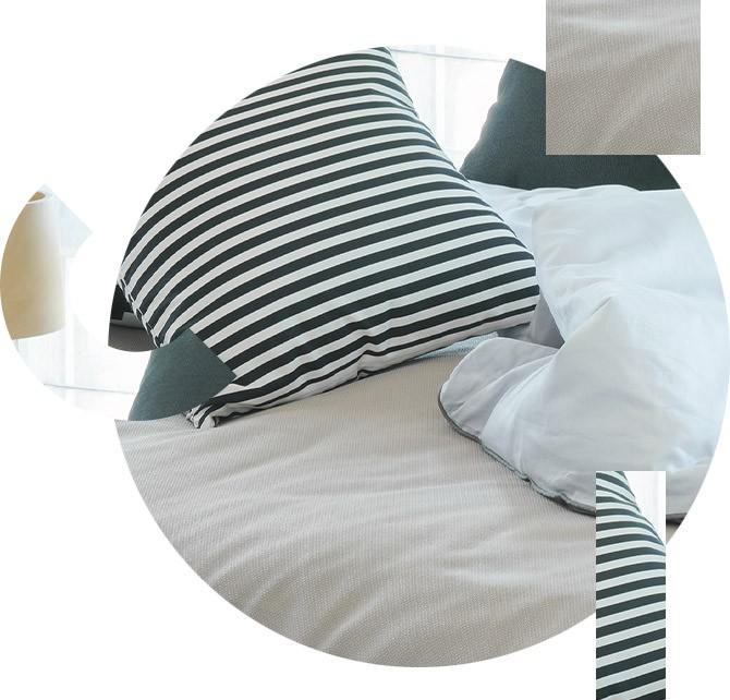 confection de linge de lit sur mesure à Nice