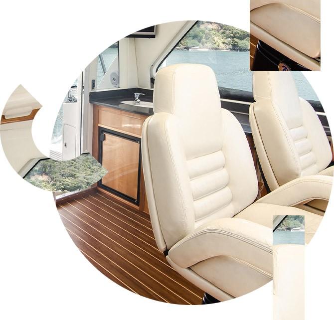Sellier pour bateaux à Nice